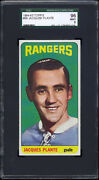1964-65 Topps 68 Jacques Plante Sgc 96 Mint Well Centered