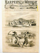 Civil War Negro Teamsters Whip Duel And Abe Lincoln Emancipation Proclamation 1863