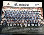 San Diego Chargers 1994 Team Poster Rare 11 X 14 Lot Of 5