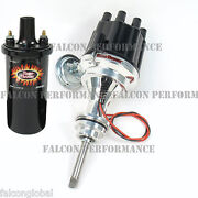Pertronix Ignitor Ii/2 Billet Flame-thrower Distributor+coil Dodge 413 440 Rb