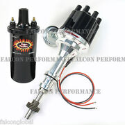 Pertronix Ignitor Ii/2 Billet Flame-thrower Distributor+coil Ford 351c 351m V8