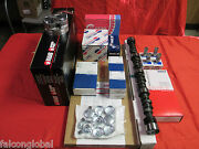 Cadillac 500 Master Rebuild Engine Kit Pistons Stage 1 Cam+lifters 1974-76