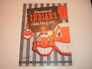 1948 Cleveland Indians Sketch Book / Year Book Yearbook 1