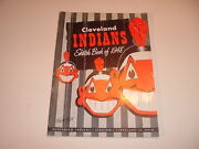 1948 Cleveland Indians Sketch Book / Year Book Yearbook 3