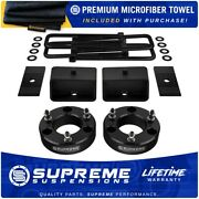 3 Front + 3 Rear Leveling Lift Kit For 2004-2020 Nissan Titan 2wd 4wd + Shims