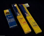 Taylor Lot 3 Thermometer Guides Deep Frying Candy And Meat Guides 1950and039s Vintage