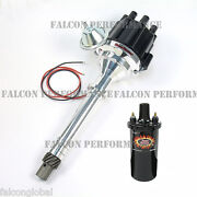 Pertronix Ignitor Ii/2 Billet Flame-thrower Distributor+coil Chevy 265 283 307