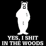 Bear In The Woods Decalfunny Decalhunting Decalgrizzlykodiakbowarchery
