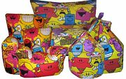 Mr Men And Little Miss Childrenand039s Beanbags Bean Chairs And Kids Character Sofaand039s