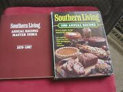 Eighteen Southern Living Annual Cookbook Lot 1980-1997 And Master Index