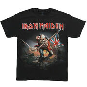 Iron Maiden T-shirt The Trooper Officially Licensed New S-2xl