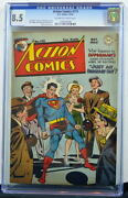 Action Comics 113 Cgc 8.5 Superman 1947 3rd Highest Graded Copy Only 2 Better