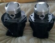 Harley Panhead Cylinders 74 Bore, 3 7/16... Set For Sale With Pistons And Rings
