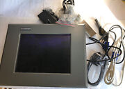 New Axiomtek P6120pg 12 Color Touchscreen Monitor,operator Interface,fc