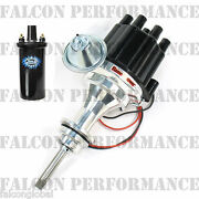 Pertronix Ignitor Iii/3 Billet Flame-thrower Distributor+coil Dodge 318/5.2