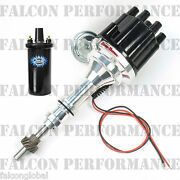 Pertronix Ignitor Iii/3 Billet Flame-thrower Distributor+coil Ford Sb 302/5.0