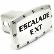 Cadillac Escalade Ext Billet 2 Tow Hitch Cover Plug Engraved Billet Aluminum