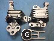 Complete Engine Mount And Transmission Mount Set 3pcs For 14-20 Jeep Cherokee 2.4l