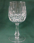 Gorham Crystal Chantilly Wine Stem Best More Items Available Vertical Cuts
