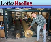 40and039 X 40and039 Black 45 Mil Epdm Rubber Roofing By Lottes Companies