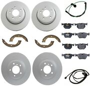 For Bmw E46 330i 01-05 Front And Rear Complete Brake Kit Best Value