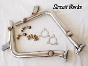 Circuit Werks Porsche Boxster 986 Secondary Straight Test Pipes W/ Cel Fix