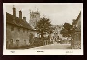 Somerset Martock Church Used 1933 Rp Ppc Mailed From Very Fine Postmark