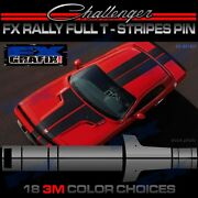 Dodge Challenger Factory Style T-stripe Rally Kit Top Quality Stripes 08-14