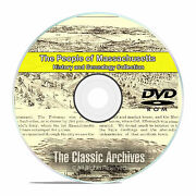 Massachusetts Ma, People Cities Towns, History And Genealogy 500 Books Dvd Cd B06