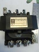 New Old General Electric Cr353gly0001a Definite Purpose 180 A Motor Starter Bp