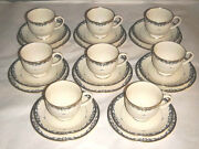 Lenox Liberty Presidential Collection 24 Piece-8 Cup And Saucer 8 Bread And Butter
