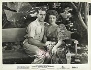 Micheline Presle And Tyrone Power In American Guerrilla In The Philippines 1950