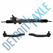Complete Pwr Steering Rack And Pinion Assembly + Outer Tie Rods For Honda Accord