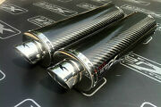Yamaha R1 2004 2005 2006 Pair - Carbon Oval Exhausts Cans Silencers.road Legal
