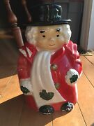 Uncle Mistletoe Cookie Jar Purchased From Marshall Field's Co. In 1950