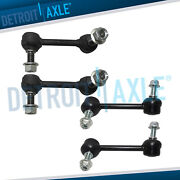 4pc Front And Rear Stabilizer Sway Bar End Links For 2004-2007 Chevy Trailblazer
