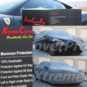 2015 Dodge Charger Breathable Car Cover W/mirror Pockets - Gray