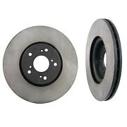 2-front Rotor For Acura Tl Type-s And Tl W/ Bembo Brake System Aftermarket New