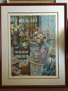 John Powel Signed Serigraph 43/300 - Country House Valued 3000-3500 35x45