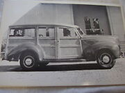 1939 Ford Station Wagon Woody 12 X 18 Large Picture Photo