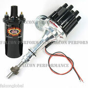 Pertronix Ignitor Ii/2 Billet Flame-thrower Distributor+coil Ford Sb 351w/5.8