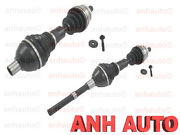 Front Set Of Cv Axle Shafts Left And Right Volvo Xc90 6-cylinder 03-06