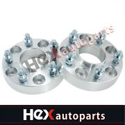 2.0 5x4.75 To 5x4.75 Hubcentric Wheel Spacers With Lip   12x1.5   Chevrolet 2