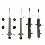 4-kyb Gas-a-just Struts 2-front And 2-rear Lexus Is250 Is350 All Wheel Drive