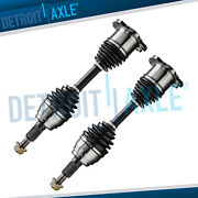 Complete Set 2 Front Left And Right Cv Axle Shaft 4x4 6lug For Chevy Gmc Truck