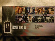 Dr Who 11 Doctors Stamps Royal Mail 50th Anniversary  First Day Covers