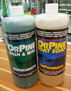 Orpine Boat Soap/wash And Wax Combo 198-op2 And 198-opw2