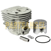 New 46mm Cylinder Piston And Ring Kit For Husqvarna Rancher 55 51 Chainsaw Parts