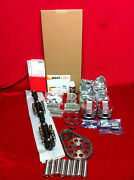 Cadillac 365 Master Engine Kit 1958 Pistons Moly Rings Bearings Isky Cam 270h