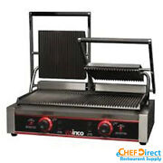 Electric Countertop Panini Grill With Dual Ribbed Plate Epg-2